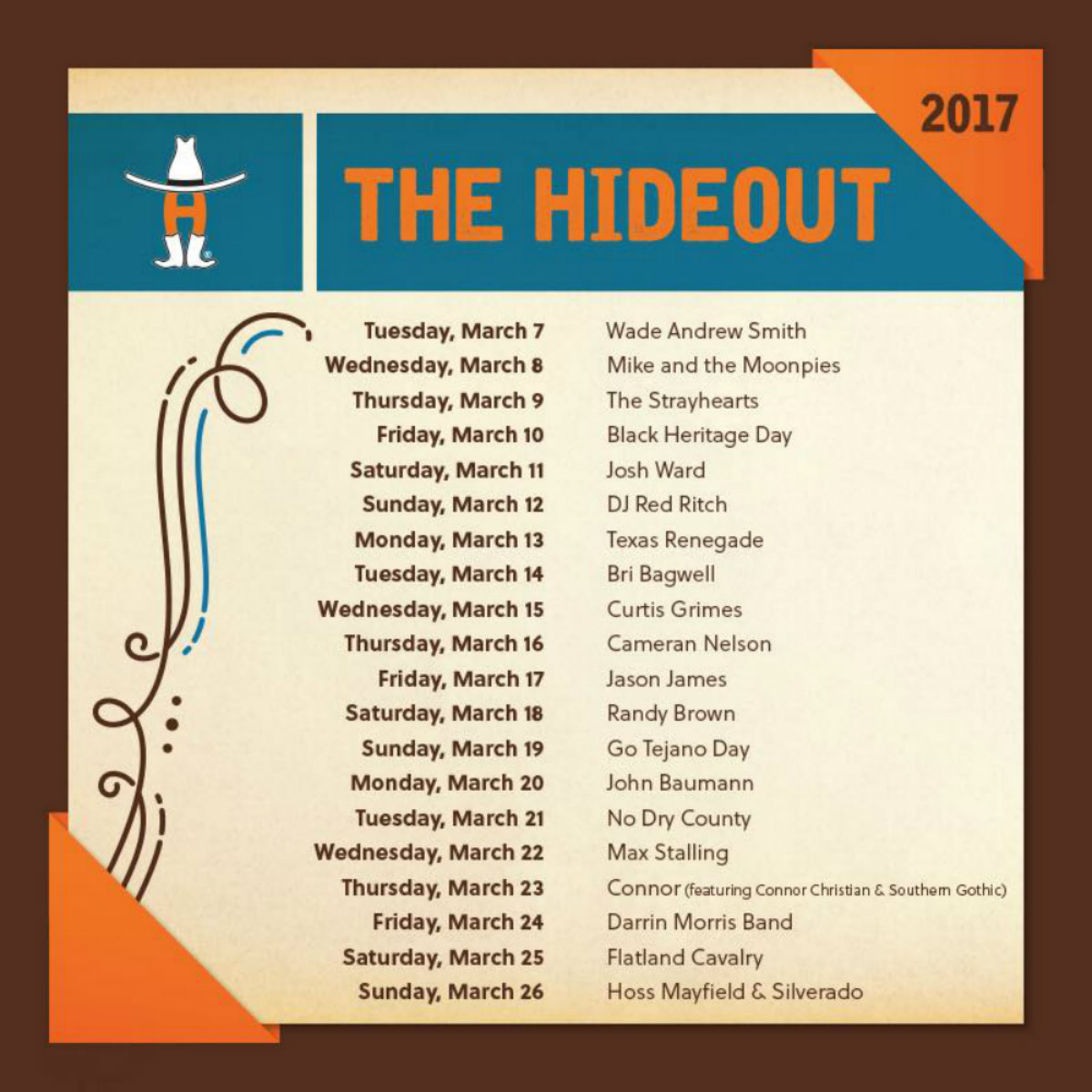 hideout-lineup